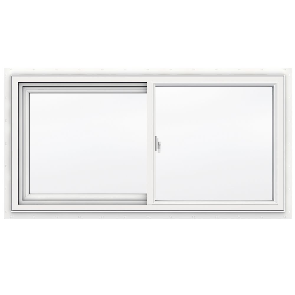 48-inch x 24-inch 3500 Series Sliding Vinyl Window