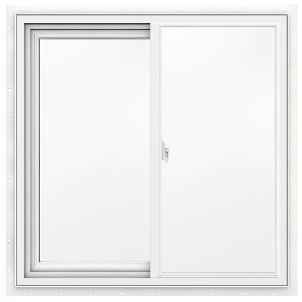 Jeld wen windows doors 36 inch x 36 inch 3500 series for Home depot doors with windows