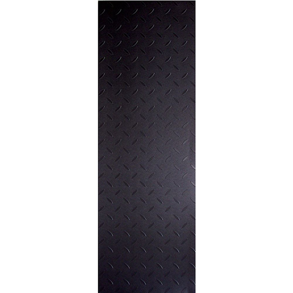 Allure Commercial 12 in. x 36 in. Diamond Plate Charcoal Vinyl Flooring (24 Sq. Ft./Case)