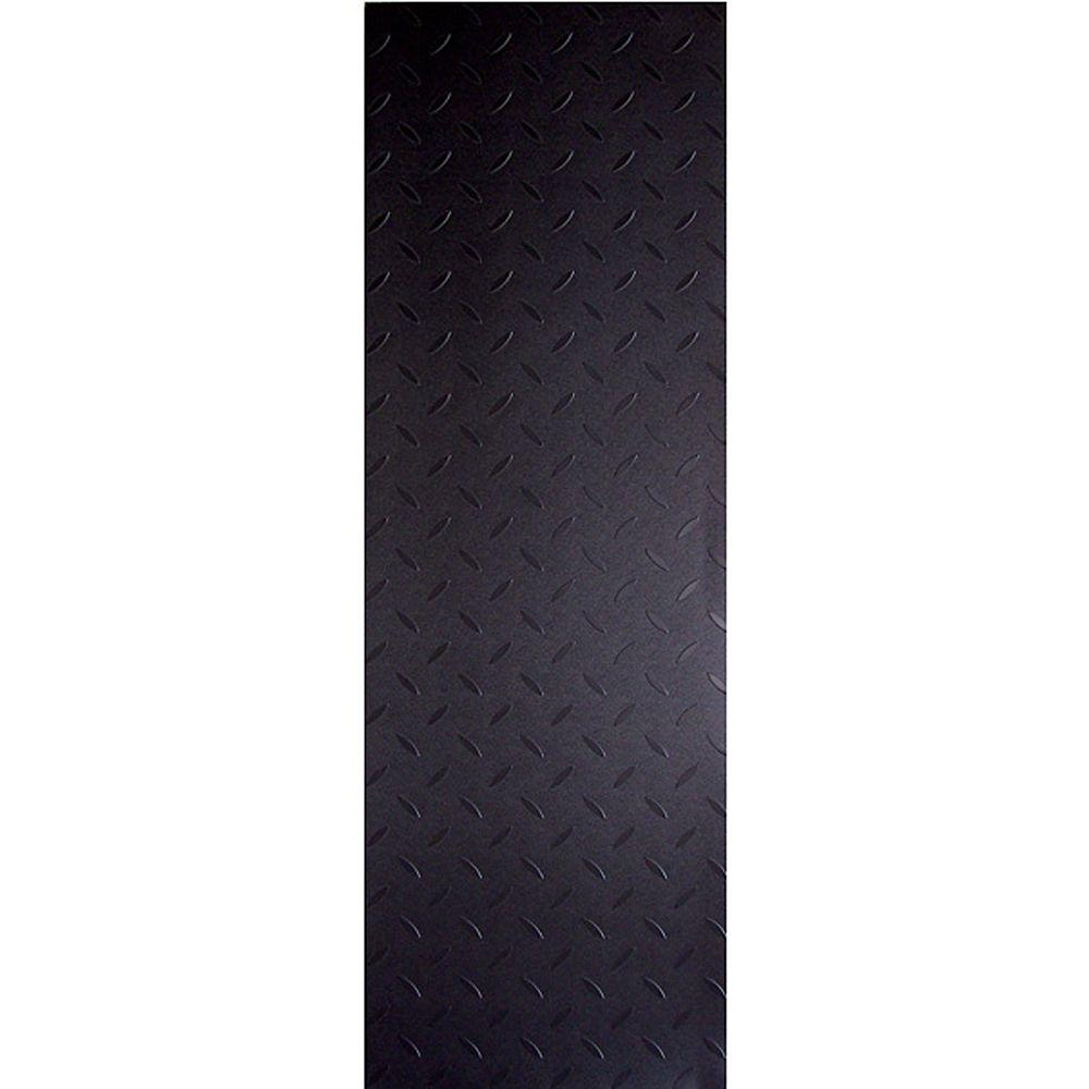 Pi. carré aux de revêtement de sol en vinyle Allure Commerciale 12 po x 36 po � Charbon du bois a...