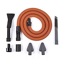 Trousse de nettoyage de qualité supérieure pour automobiles pour aspirateurs secs/humides