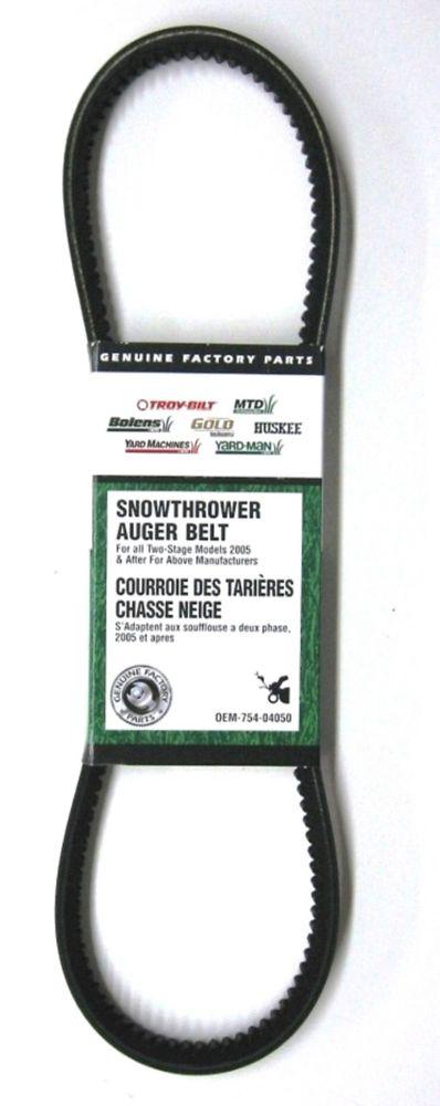 Auger Drive Belt
