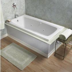 American Standard Renaissance Acrylic Whirlpool Bathtub in White