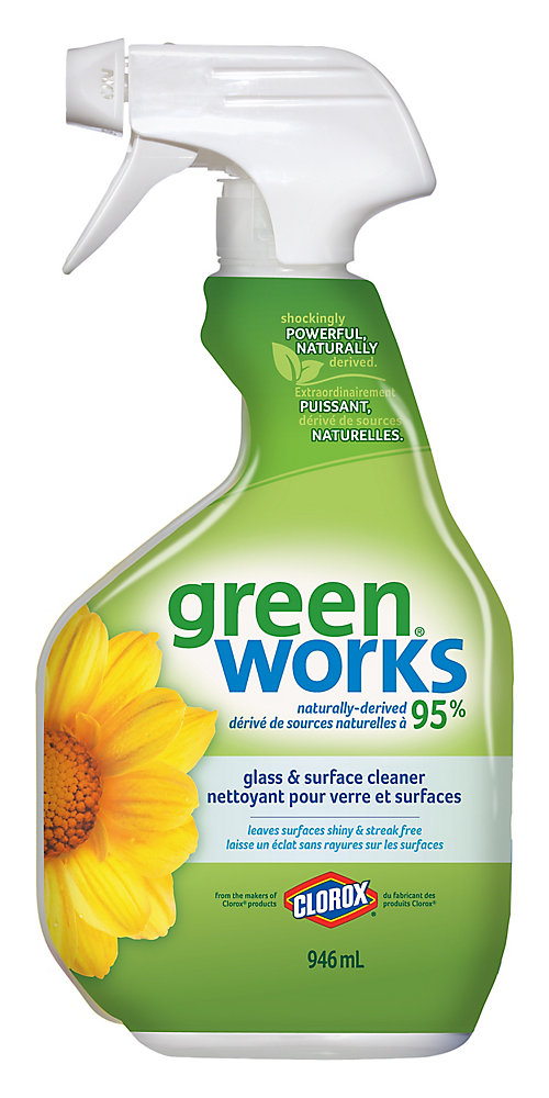 GreenWorks Glass & Surface Cleaner | The Home Depot Canada