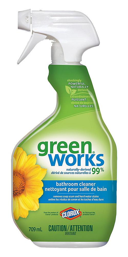 Nettoyant naturel pour salle de bain