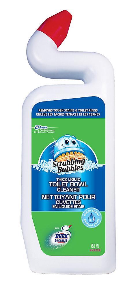 Nettoyant pour cuvette en liquide épais pour toilettes, 750 mL