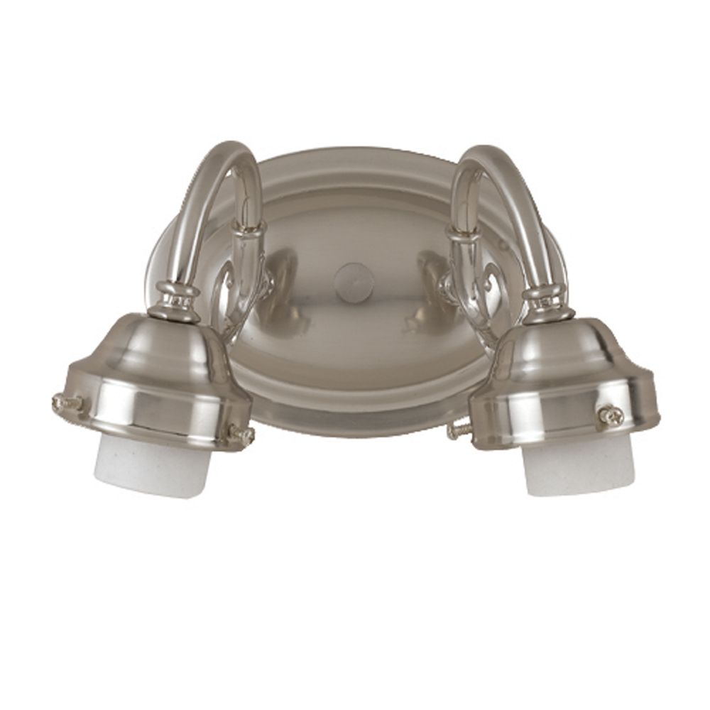 8 In. Bathroom Vanity Holder, Brushed Nickel Finish