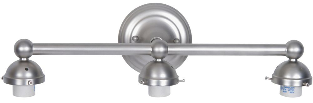 21.5 In. Bathroom Vanity Holder, Brushed Nickel Finish
