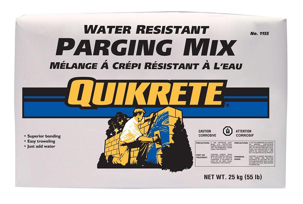 Water Resistant Parging Mix 25kg