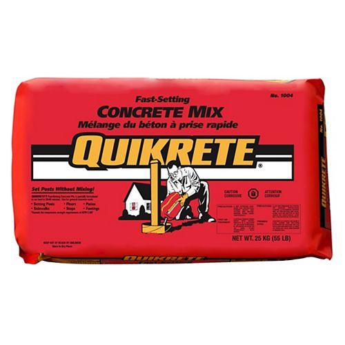 Quikrete Fast Setting Concrete Mix 25kg