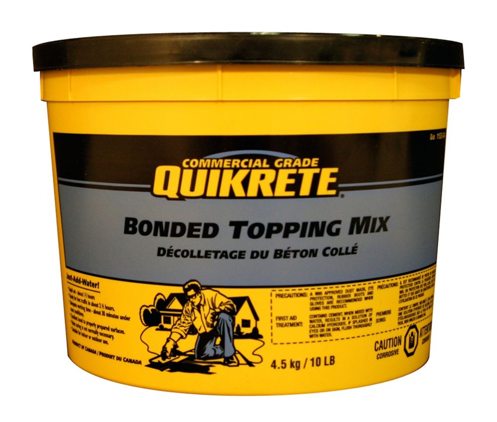 Bonded Topping Mix 4.5kg Pail