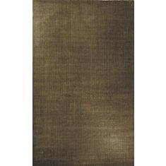 Assorted Bound Brown 8 ft. x 10 ft. Indoor Contemporary Rectangular Area Rug