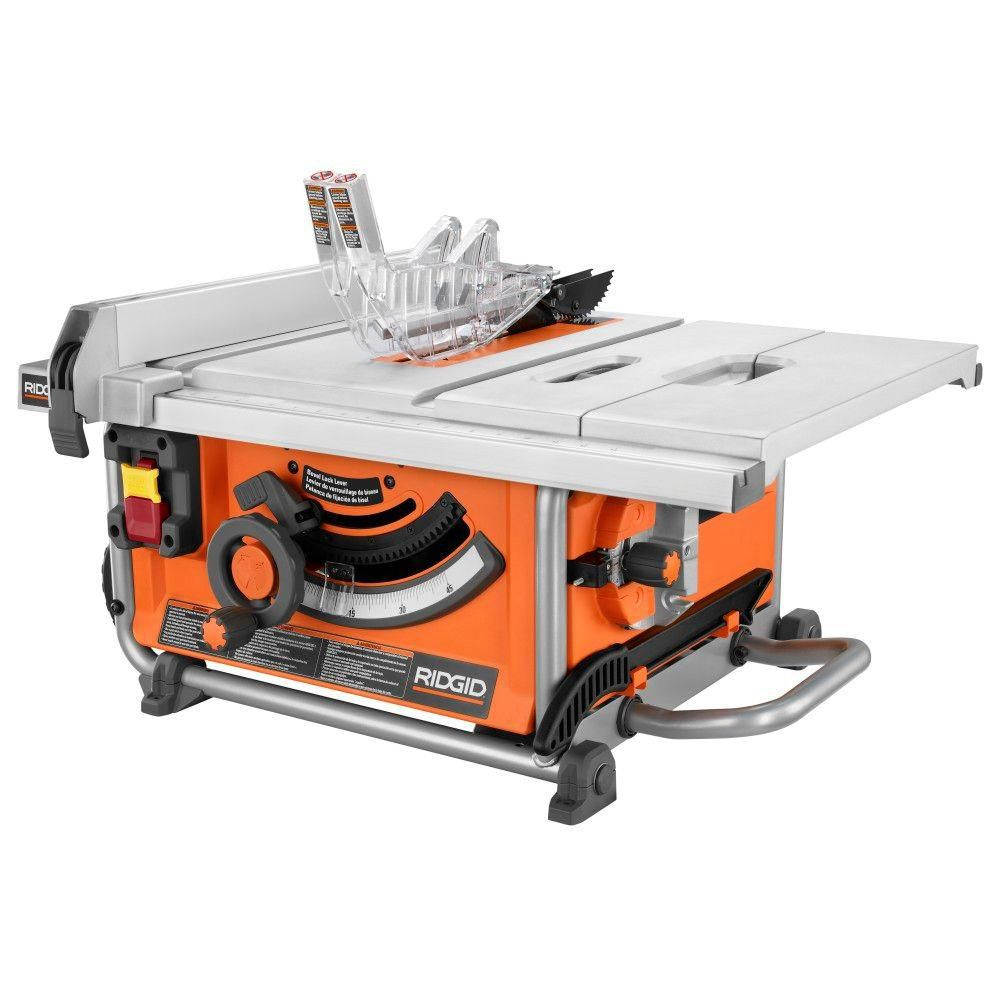 10-inch Portable Jobsite Table Saw