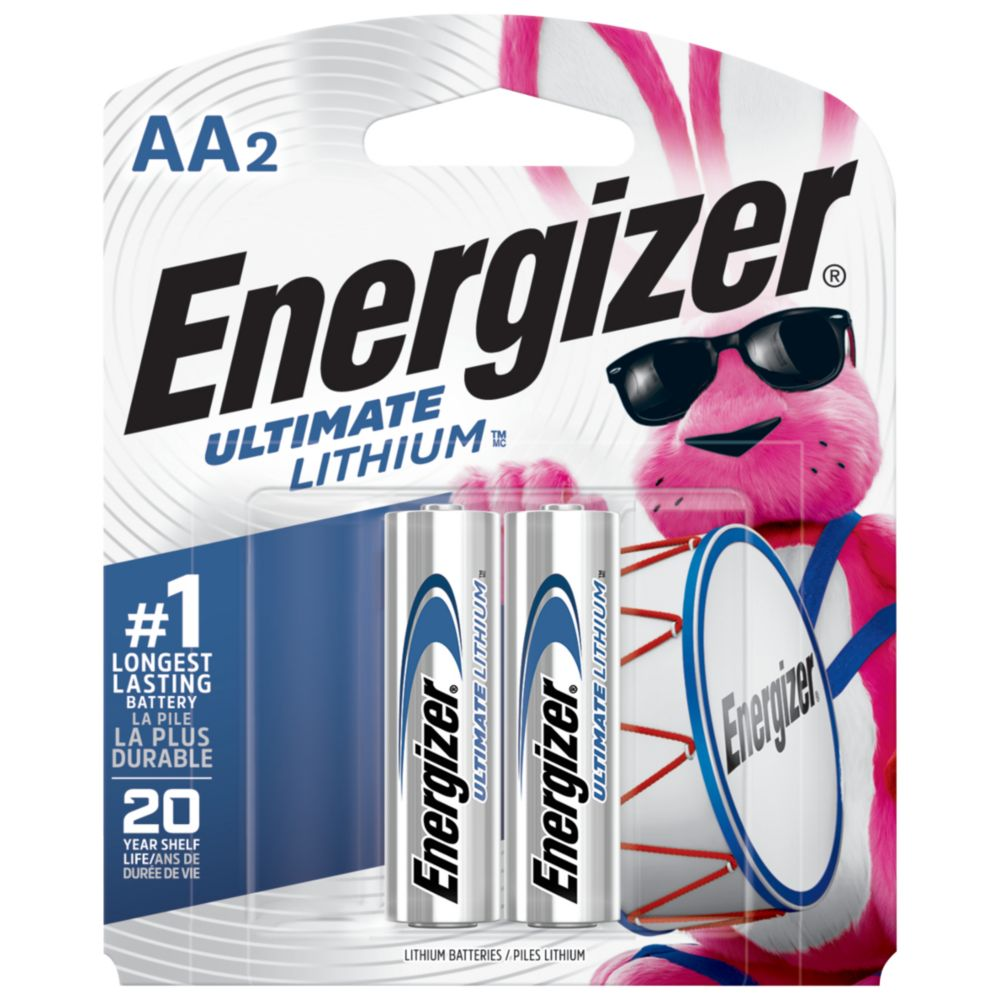 Ultimate Lithium AA Battery - 2 Pack
