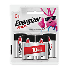 Max C Battery - (4-Pack)