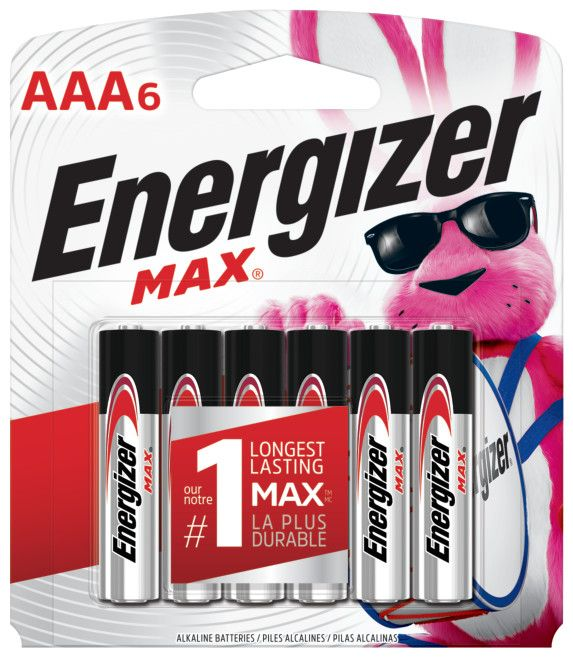 Max AAA Battery - 6 Pack