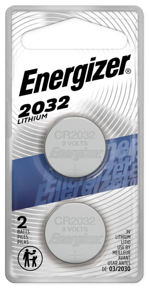 Energizer Max 2032 Battery 2 Pack The Home Depot Canada