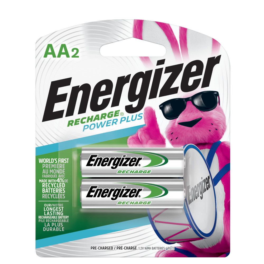 energizer pile rechargeable aa paquet de 2 home depot. Black Bedroom Furniture Sets. Home Design Ideas