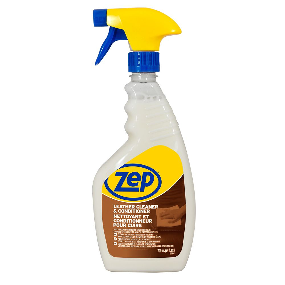 Zep Commercial Premium Leather Cleaner 710 Ml The Home