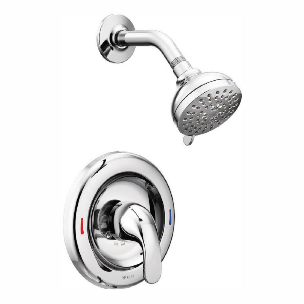 Adler Single-Handle Posi-Temp Shower Faucet with Multi Function Showerhead in Chrome