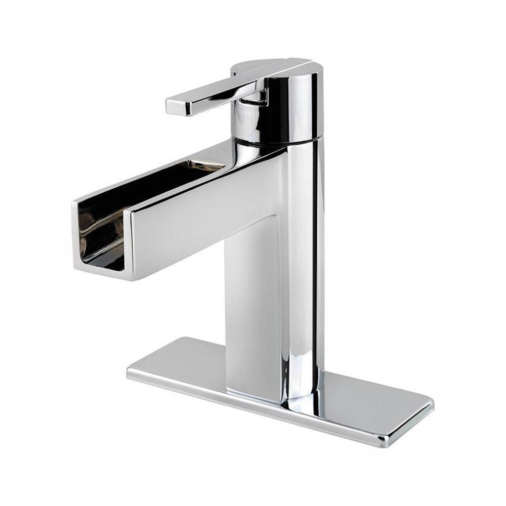 Vega 4-inch Centreset Single-Control Bathroom Faucet in Polished Chrome Finish