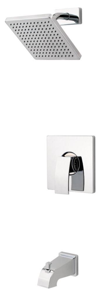 Pfister  Kit de douche et baignoire Kamato en chrome poli