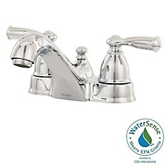 Banbury 4-Inch Centerset 2-Handle Low-Arc Bathroom Faucet in Chrome