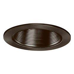 Halo Déflecteur métallique 953TBZ et garniture bronze toscan, ouverture de 10 cm