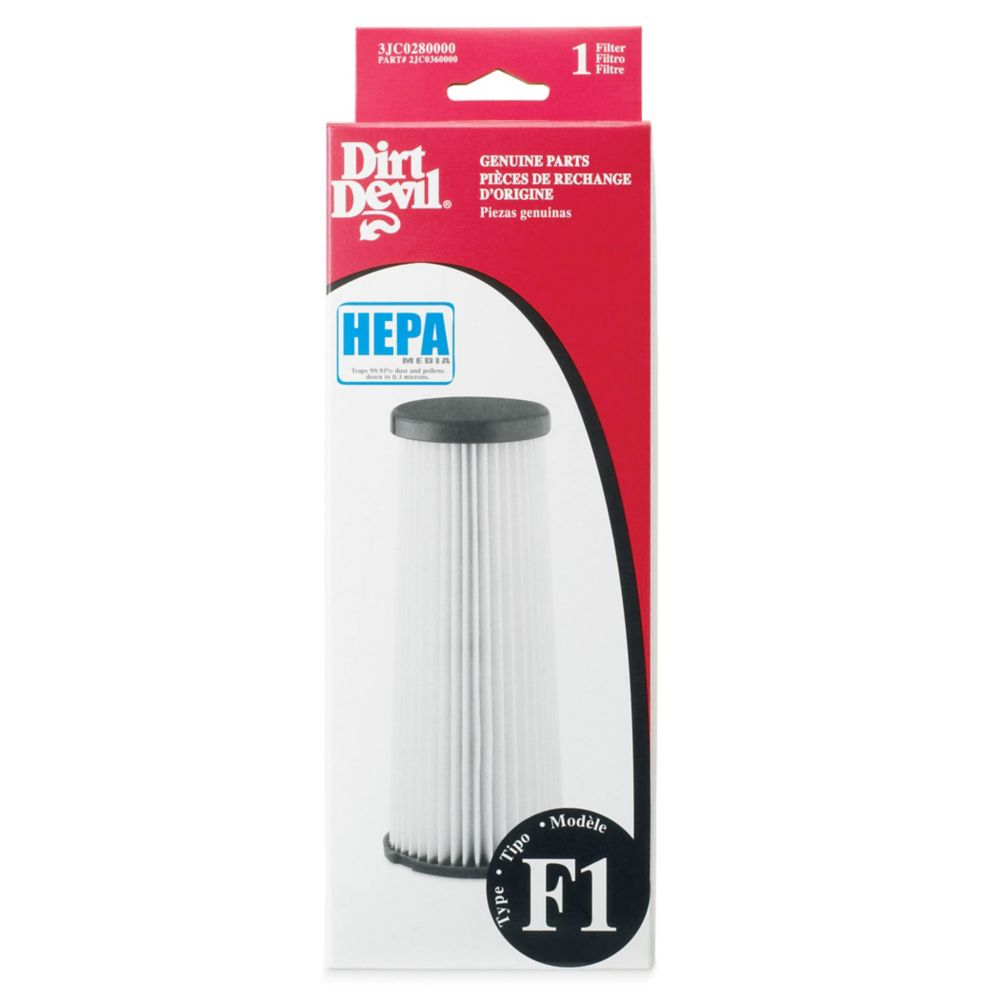 Dirt Devil Type F1 Hepa Filter The Home Depot Canada