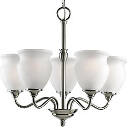 Progress Lighting Richmond Hill Collection Brushed Nickel 5-light Chandelier