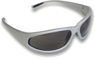 Smoked Mirror Lens Safety Glasses