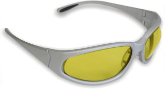 Amber Lens Safety Glasses