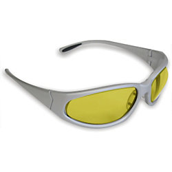Workhorse Amber Lens Safety Glasses