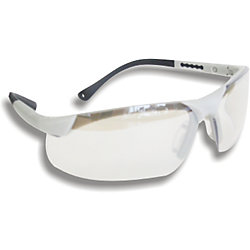 Workhorse Clear Safety Glasses in Grey/White