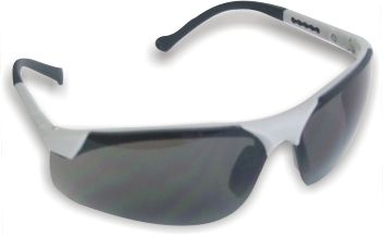Blue Mirrored Safety Glasses