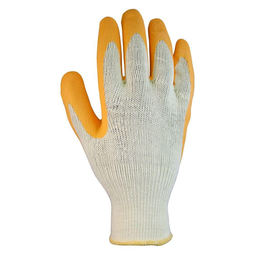 Latex Coated All Purpose Gloves - Medium