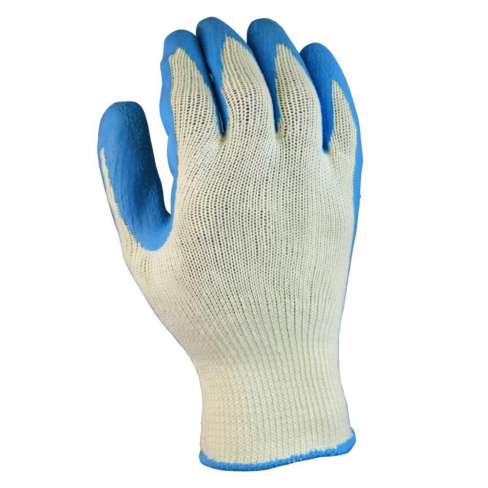 Latex Coated All Purpose Gloves - Large