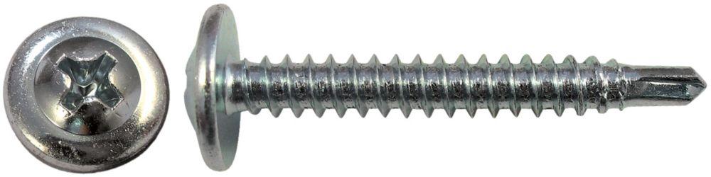8 X 1 1/4 Teks Lath Screw Self Drilling