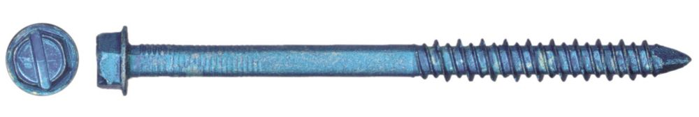 3/16 X 2 1/4 Hex Head Tapcon  Screws