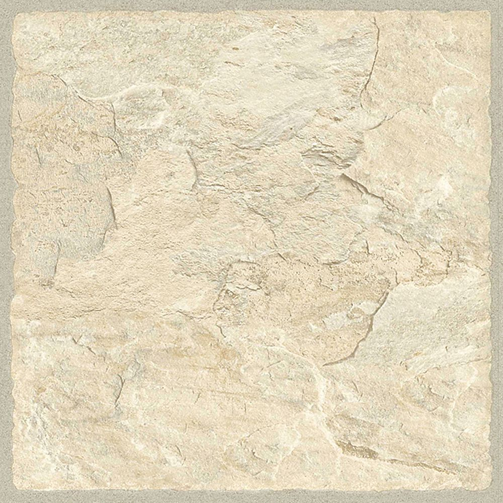 TrafficMaster Tile 12 in. x 36 in. Sedona Resilient Vinyl Tile Flooring (24 sq. ft./case)