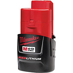 M12 REDLITHIUM 12-Volt Lithium-Ion Compact Battery Pack