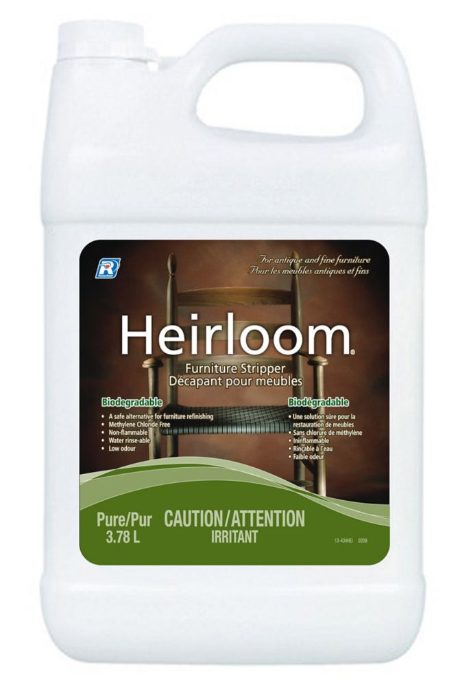Heirloom Pure Furniture Stripper - 3.78 L