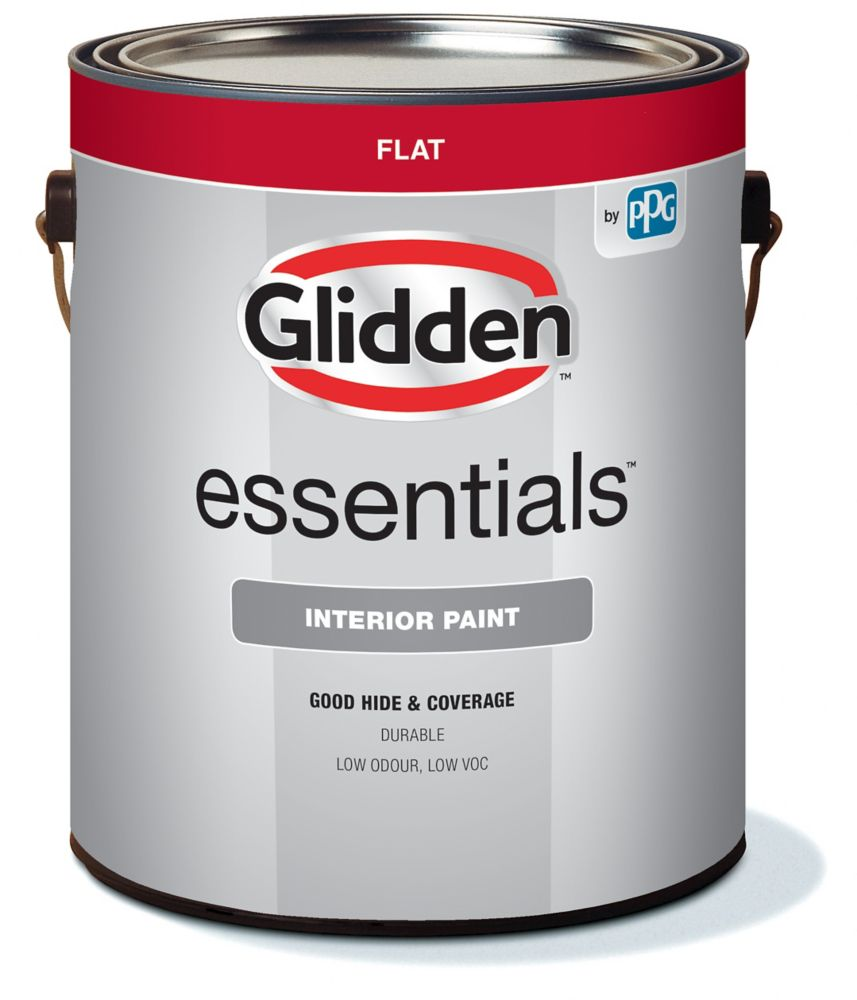 glidden peinture d 39 int rieur glidden vantage fini mat gallon home depot canada. Black Bedroom Furniture Sets. Home Design Ideas