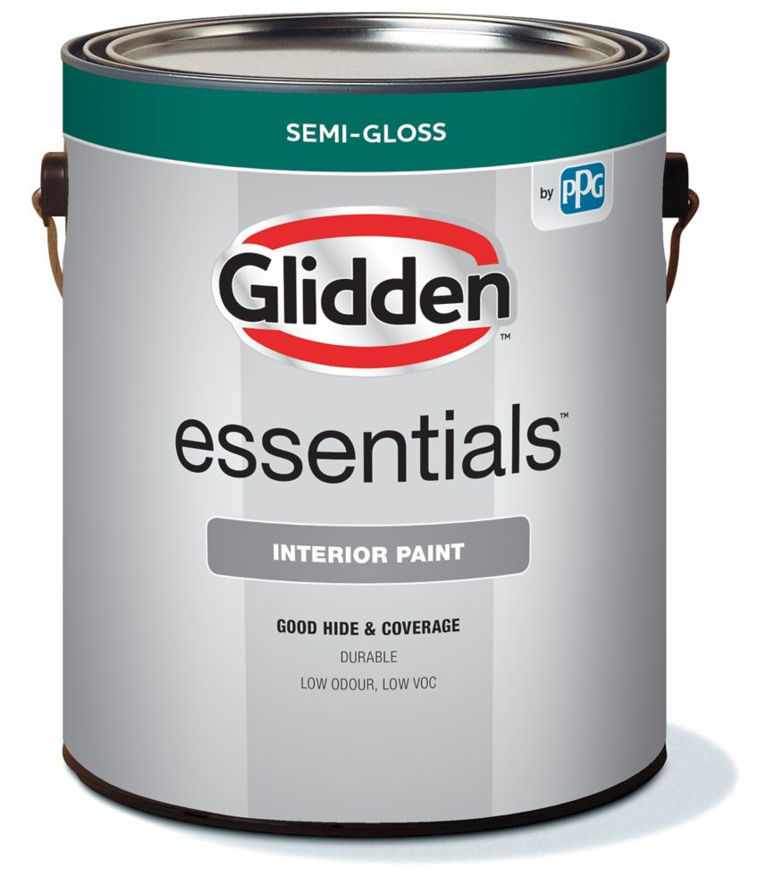 glidden peinture d 39 int rieur glidden vantage fini semi brillant gallon home depot canada. Black Bedroom Furniture Sets. Home Design Ideas