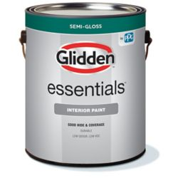 Glidden Essentials Interior Latex Semi-gloss Medium Base 3.70L