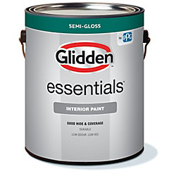 Glidden Essentials Interior Latex Semi-gloss Accent Base 3.70L