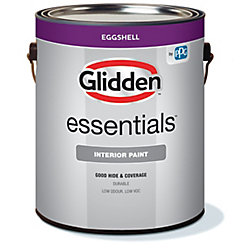 Glidden Essentials Interior Eggshell White 3.7L