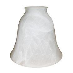 13,65cm Verre, Fini d'albâtre