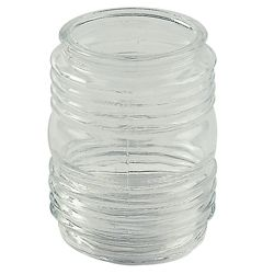 Shawson Lighting 3.5 In.  Jam Jar Glass, Clear Finish