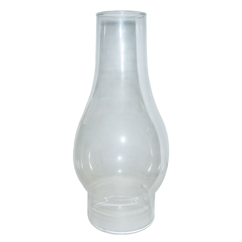 4 In. Chimney glass, Clear Finish